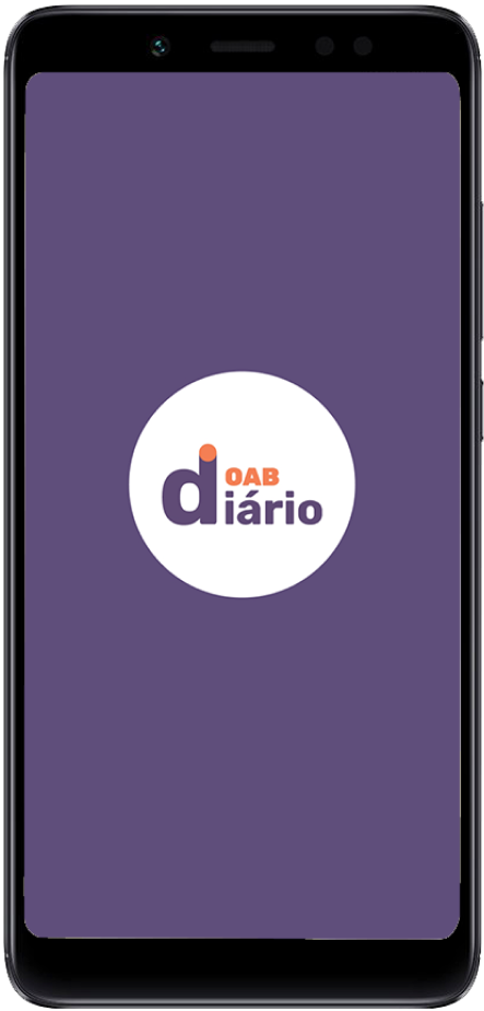 Imagem do aplicativo OAB Diário no celular